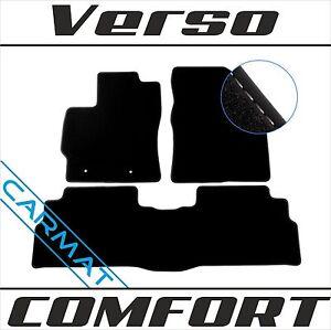 Fussmatten für Toyota Verso Bj. 2009-2013 vor FL Fußmatten Autoteppiche COMFORT