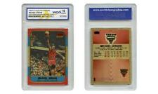 1986 POLYCHROME Brushed Gold MICHAEL JORDAN Anniv. Fleer Rookie Card GEM-MINT 10