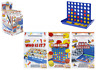 TRAVEL GAMES 3 Pack - Connect 4/Guess Who/Battle Ship Kids Family Board Game