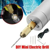 Rechargeable mini electric drill DC 5V for DIY motor PCB drilling tools