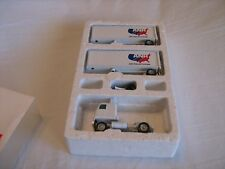 1994 Winross ANR Freight Cab & Double Trailer 1/64 Scale