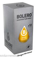 Bolero DRINKS – Lemon (Zitrone) Instant Getränk - 12 Beutel für 18-36 Liter