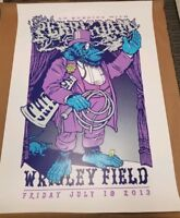 Pearl Jam Chicago Wrigley Poster Print Ames Bros 2XL Jumbo Home Show Edition