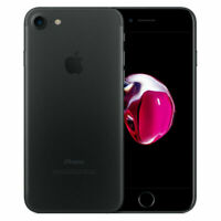 Apple iPhone 7 32GB - Matte Black (Factory Unlocked) LTE iOS (GSM) Smartphone B+
