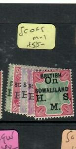 SOMALILAND  (PP0807B)  QV  SERVICE   SG O1-5   MOG