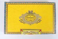Vintage Partagas Flor De Tabacos 1845 Wooden Empty Tobacco Cigar Box
