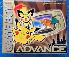 Pokemon Game Boy Advance! New & Factory Sealed! Nintendo New York Gold RARE WOW!