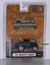 Stone Woods Cook Muscle Machines 1941 Willys 41 Coupe NHRA Drag Racing Hemi 1:64