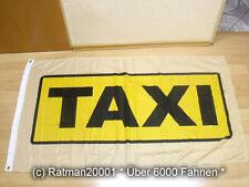 Fahnen Flagge Taxi Fahne Premium - 150 x 150 cm