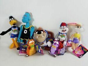 "1996 McDs ""SPACE JAM"" plush Toys"