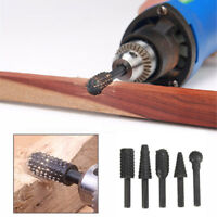5PCS Black Drill Bit Set Cutting Tools For Woodworking Knife Wood Carving Tool