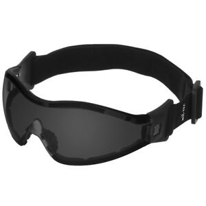 Skydiving Commando Tactical Goggles Military Eye Protection Anti-Fog Smoke Lens