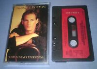 MICHAEL BOLTON TIME LOVE & TENDERNESS PAPER LABELS cassette tape album T5637