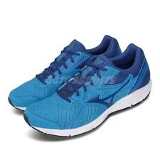 Mizuno Spark 5 Blue White Men Running Training Shoes Sneakers K1GA2003-27