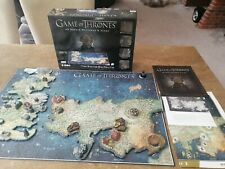 4D CITYSCAPE PUZZLE GAME OF THRONES - WESTEROS and ESSOS 891 Pieces