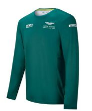 Aston Martin F1 Men's 2021 Team Long Sleeve T-Shirt Green