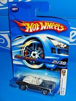 Hot Wheels 2006 First Editions #21 '69 Camaro Convertible Black w/ 5SPs