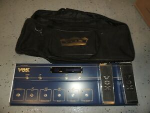 Vox Valvetronix VC-12 Foot Controller Amplifier Amp Footswitch Floorboard w/Bag
