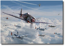 Bretschneider's End by Jim Laurier - L/E Giclee on Paper - Aviation Art Prints