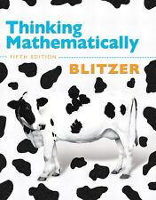 """Thinking Mathematically"" 5th Edition (Author: Robert Blitzer)"