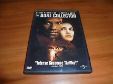 The Bone Collector (DVD, 2000 Widescreen) Denzel Washington Angelina Jolie Used