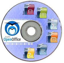 Open Office PREMIUM WINDOWS XP Vista 7 8  Schreiben Kalkulieren Büro Software