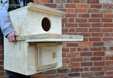 Barn Owl Nest Box - INDOOR USE ONLY - (Direct from the Barn Owl Centre)