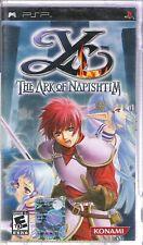 GAME PSP YS THE ARK OF NAPISHTIM NUOVO SIGILLATO  (L1A) VERSIONE USA NTSC