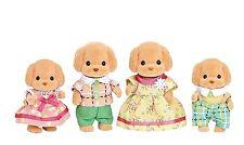 Les familles sylvanian famille de Caniche Toy