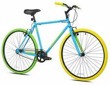 ✅✅✅Kent 700C Men's Ridgeland Hybrid Bike, Blue/Green Brand New ✅Free Shipping✅✅✅
