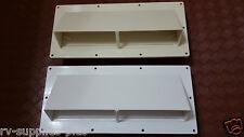 RV Mobile Home Parts  Range hood Stove Vent With Damper Ventline Nu-Tru- White.