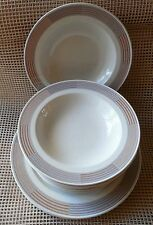 Mikasa Intaglio CAC06 Setting For 4 Dinner, 4 Salad Plates & 4 Soup Bowls 12PC