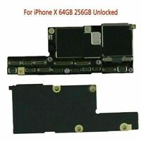 For iPhone X 64GB 256GB Unlocked Main Logic Motherboard Without Face ID Nice