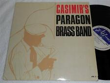 MIKE CASIMIR's Paragon Brass Band '65 JAZZOLOGY ORIG JAZZ LP ULTRA RARE NMint