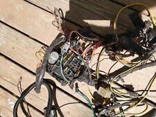 83 1983  c10 chevy  4x4 DASH WIRE HARNESS W/ FUSE BOX OEM