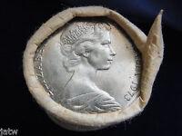 1973  20c Mint Roll.......(20 coins  UNC/BU)  RAM wrapper