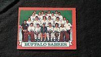1973/74 OPC #94 BUFFALO SABRES TEAM . FREE SHIPPING