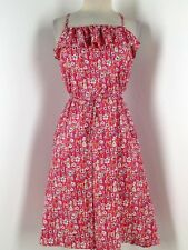 Women Liberty of London for Target Martha Grace Floral Halter Dress Size XS