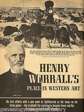 Grouthy, Kansas & Art & Paintings of Henry H. Worrall+DaryTaft,McCoy,Webb