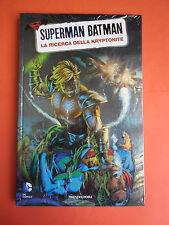 SUPERMAN BATMAN -MONDADORI- N°7-ricerca della kryptonite-SIGILLATO-EDIZIONI-LION