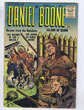 Exploits of Daniel Boone #3 Quality 1956