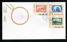 CANADA  1982 COMBO FDC see scan  cat #910,912, & 913 (bluenose)   F764