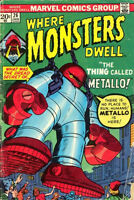 Where Monsters Dwell 26 VF (1982) CBX17