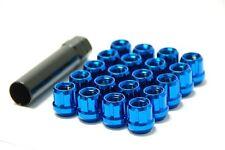 MUTEKI RACING LIGHTWEIGHT TUNER WHEEL RIM LUGS LUG NUTS BLUE 12x1.5MM OPEN END