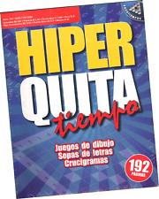 SOPAS DE LETRAS Y OTROS JUEGOS HIPER QUITA TIEMPO 124, 192 PÁGINAS EN ESPAÑOL