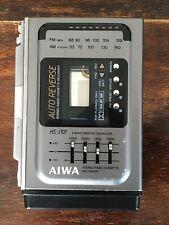 AIWA HS-J101 WALKMAN RECORDER FM/AM RADIO EQUALIZER FULLY RESTORED