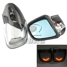 Anti glare LED Turn Signal Rearview Side Mirrors For BMW K1200 LT K1200M 99-2008