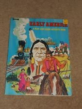 PIONEER A PLAY AND LEARN ACTIVITY BOOK ARTCRAFT UNUSED