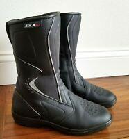 SIDI Livia Lei Rain Motorcycle Riding Touring Boots Black Womens 7 U.S. EUR 38