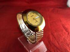 RADO Diastar Day date 114.0391.3 Quartz Mens Watch Gold Colour